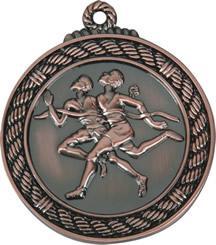 Die cast Medal