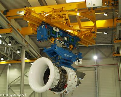 CTI Systems Engine Handling