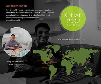 Kunan Perú en el mundo