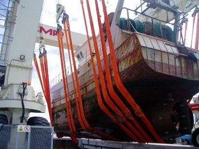 VTT PROFIX DUPLIX Boat Liftingbelt slings