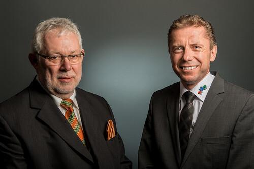 Hans-Jürgen Lütter und Reiner Gölz