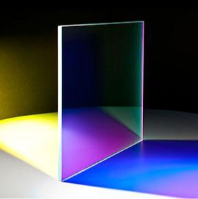 Farbeffektglas für Bühne und Illumination