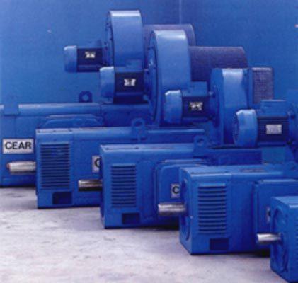 CEAR Produzione motori e generatori a corrente continua.