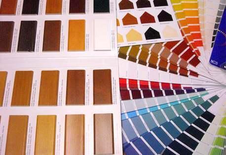ampia scelta di vernici e colori all'acqua