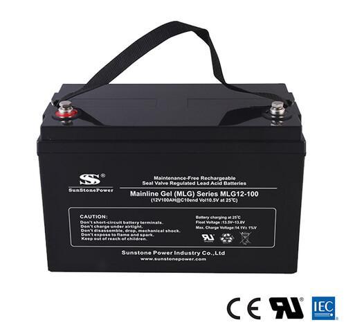 Solar Gel Batterie