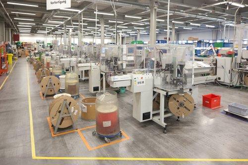 Produktionshalle Ungarn
