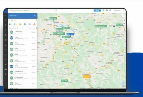 GPS Fahrzeug-Ortung