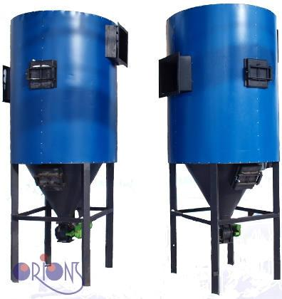 Smoke gas purification systems (multicyclons, chimneys etc.)