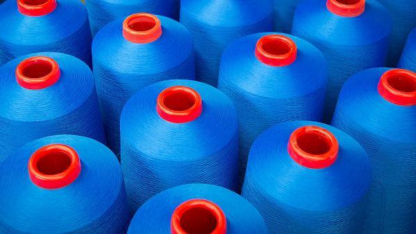 Nylon dyed yarns