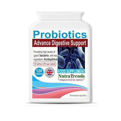 Probiotics Acidophilus tablets live cultures bacterias