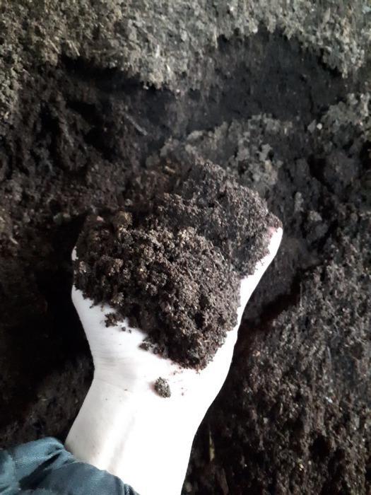 Nutrient soil based on biohumus