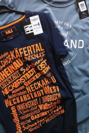 T-Shirt mit hochwertigen Prints