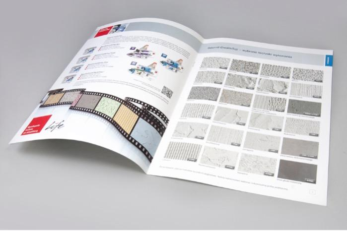 A4 full colour offset brochure with company profile