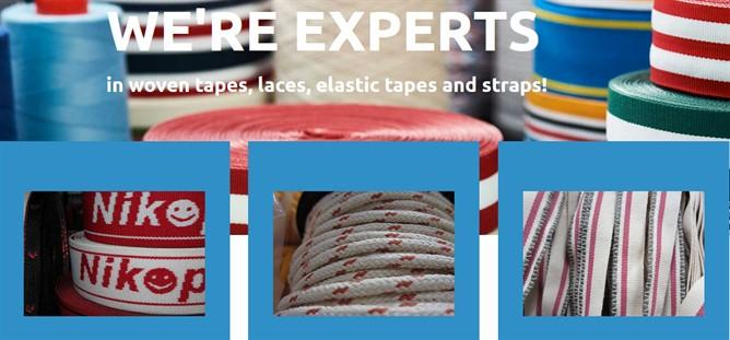 Since 1989 producing cords and tapes for the clothing, Upholstery, Furniture and roving industry.