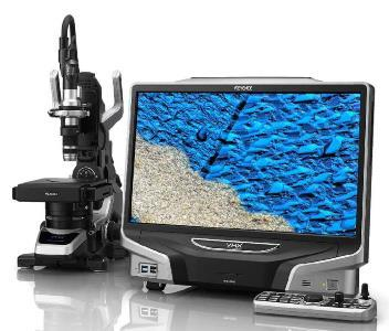 Optisches Mikroskop mit großer Tiefenschärfe und modernen Messfunktionen für Inspektion und Fehleranalyse. - Hochauflösend