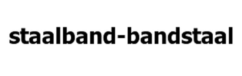 staalband bandstaal