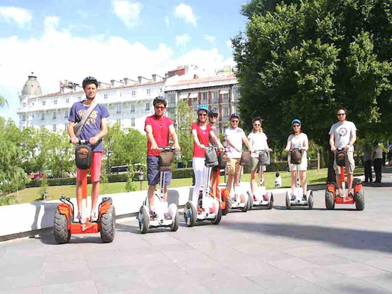 Ninebot Segway rentsl in Madrid with Funky Rider.