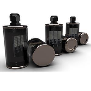 Luminaire à LED IP69K ATEX - Luminaires à LED - tertiaire - industrie - Luminaire à LED en cuivre, laiton, inox, titane, inox - luminaires à LED