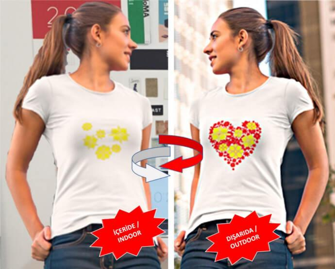 Best Quality T-Shirt for Women and Men.Nano Technological Color Changing T-Shirt