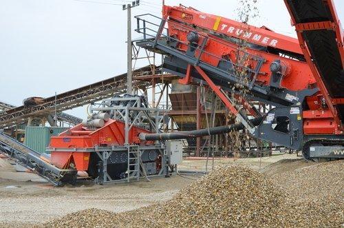 Sandaufbereitungsanlagen