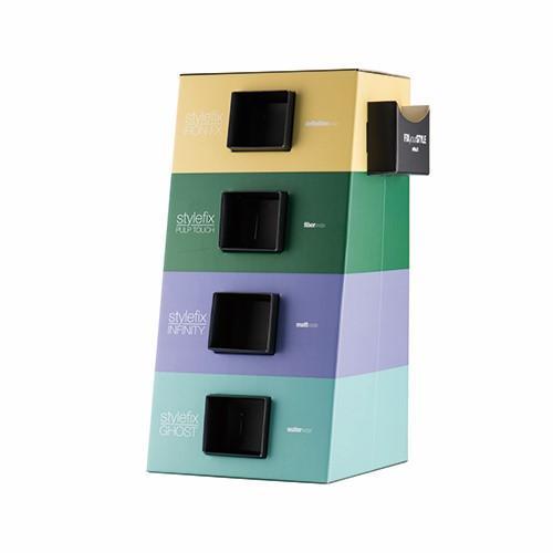 Progettiamo e produciamo espositori da banco in cartonato, laminil e materiali durevoli come plexiglass, polistirolo, ferro e tanti altri in forme, colori e dimensioni interamente personalizzate.