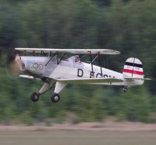 Bücker Bü-131 Jungmann replica