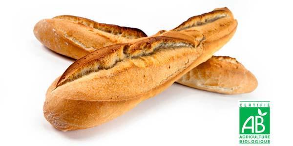 Une gamme de pains bio fabriquée à partir de farines de nos régions.