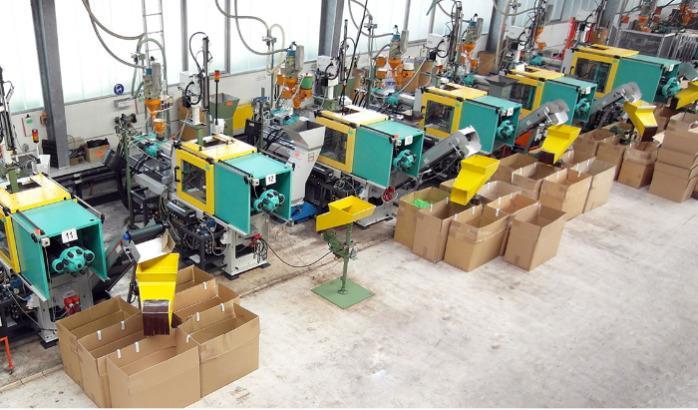 Injection molding machine park