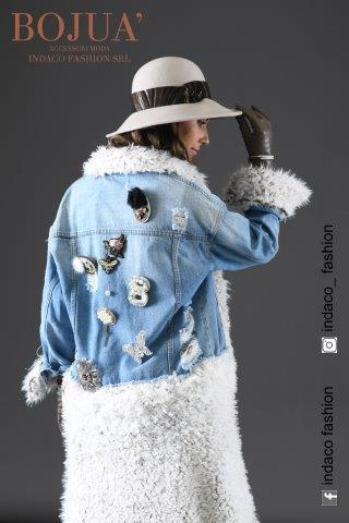 Denim Fashion Lady
