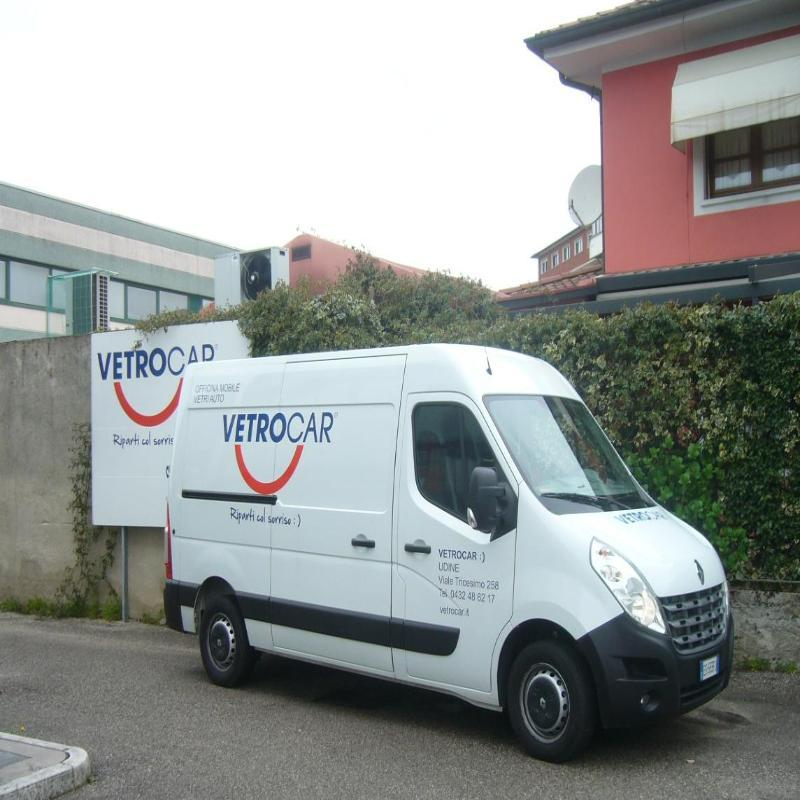 VetroCar Udine SERVIZIO  A DOMICILIO