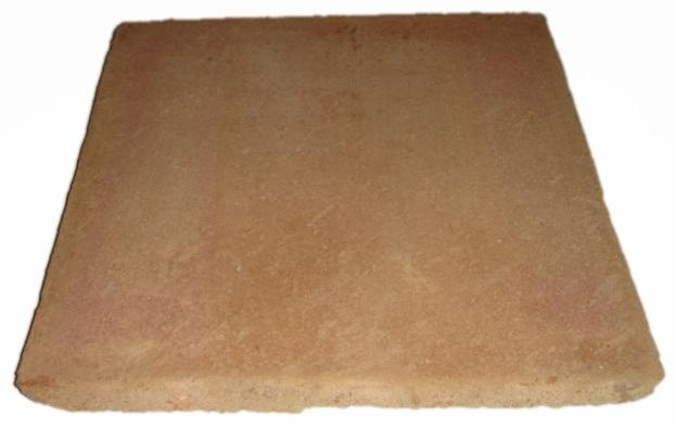 "Ref 304: Tile ""Santa Catarina"" Type 30x30 cm finished with natural clay"