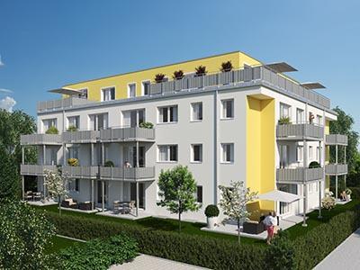 Bauvorhaben wie Doppelhäuser, Eigentumswohnungen und Gartenwohnungen in Österreich.