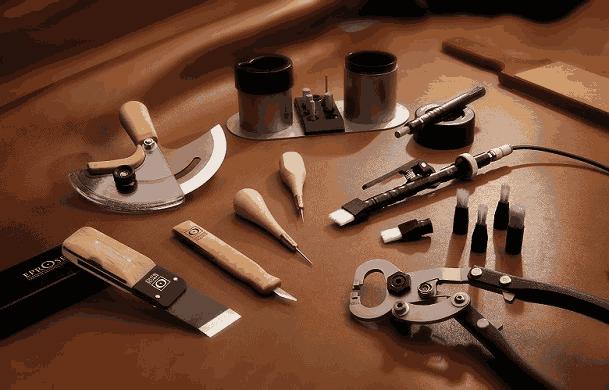 Eprose maroquinerie de luxe outils de coupe pour le cuir outils de frappe pour le cuir sur - Comment enlever du stylo sur du cuir ...