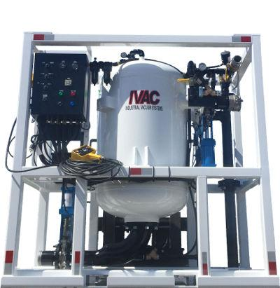 PV500 industrial vacuum system