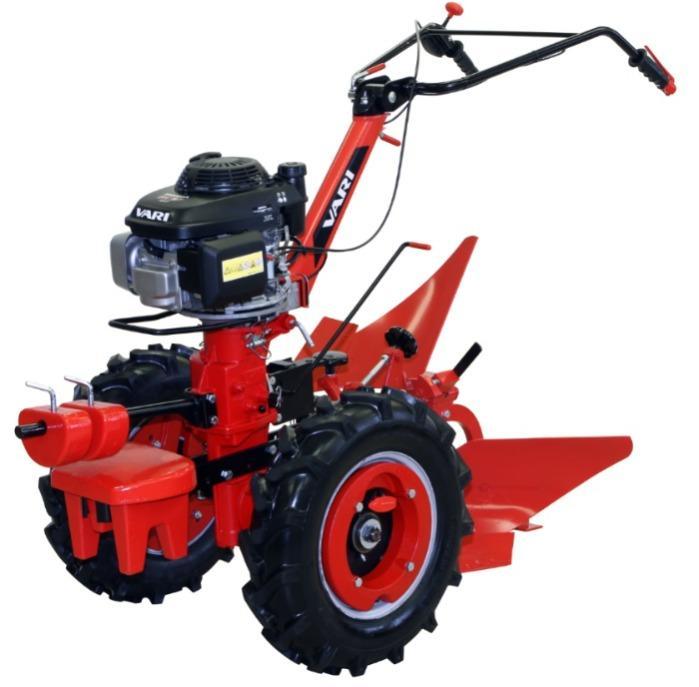 VARI Global minitractor with plough