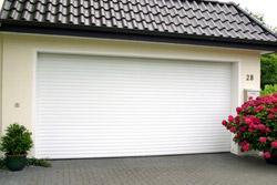 White Roller Doors