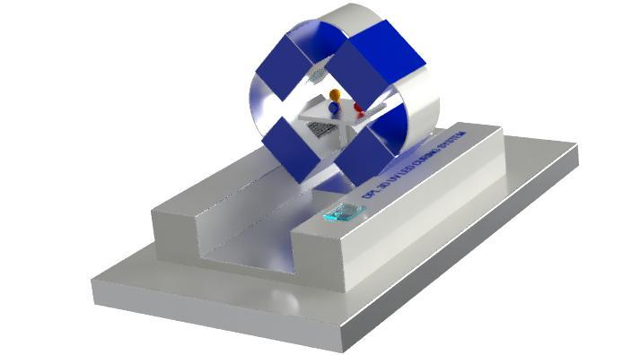 High Speed automatic 3D curing system