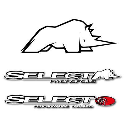 Création du logo et des marquages de l'entreprise SMComposite fabriquant d'articles de sports nautiques.