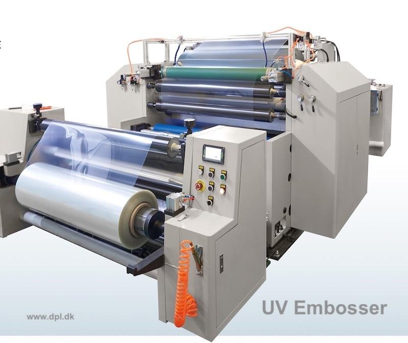 High precision Roll-to -roll UV embosser for micro/nano-structure