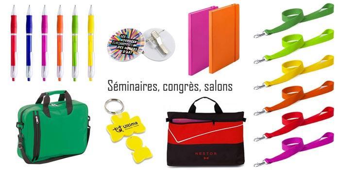 Gamme séminaires, congrès, salons