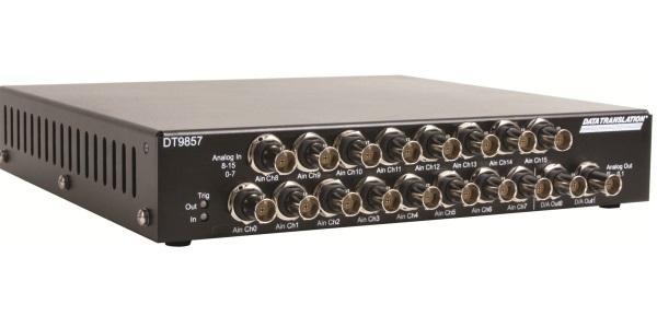 Multi-Kanal Messbox für den Anschluss von IEPE-Sensoren