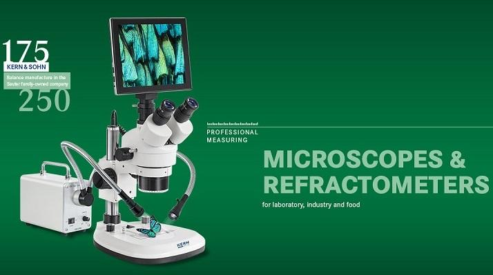 Microscopes for industry and labs