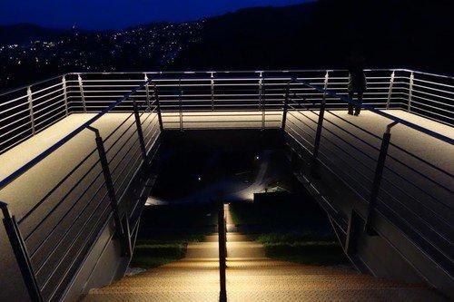 LED beleuchtete Handläufe