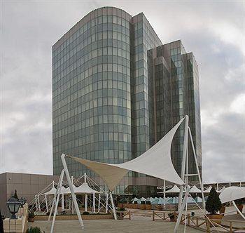 Aluminum Facade Architectural by Simin Metal at Golden Coast Hotel Baku Azerbaijan