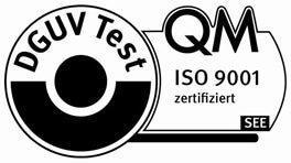 Logo DGUV Test, QM