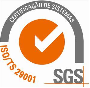 Certificação ISO/TS29001