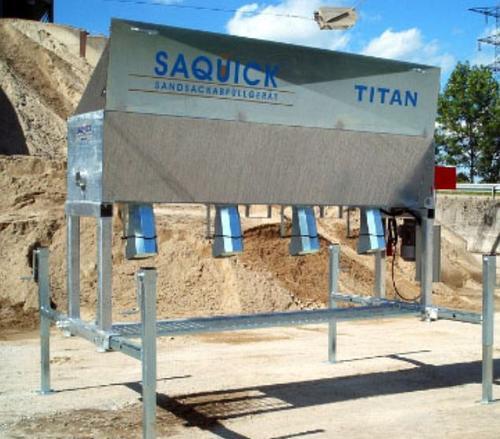 Sandbag filling machines