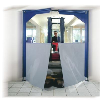 Flexible pvc doors - Portes à vantaux souples -  PVC Pendeltür