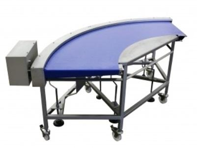 The Racer fabric belt conveyor is designed for smooth and consistent conveying of small, fragile and/or precious products.