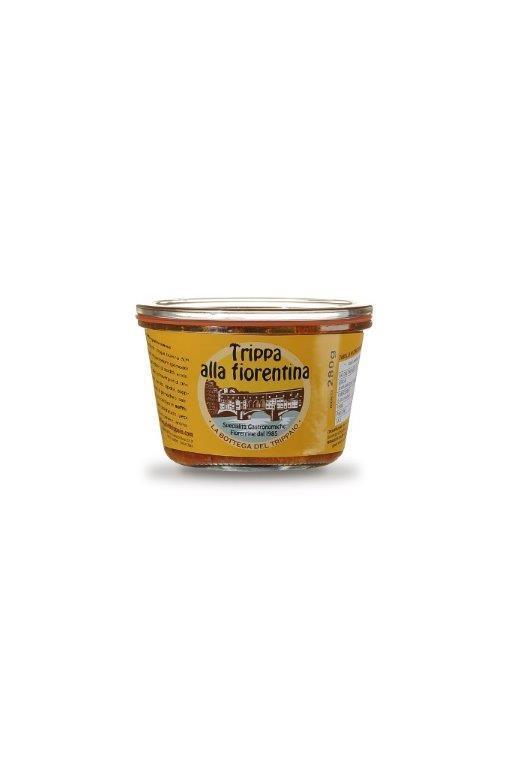 preparazione gastronomica sterilizzata. Può essere conservata a lungo a temperatura ambiente.